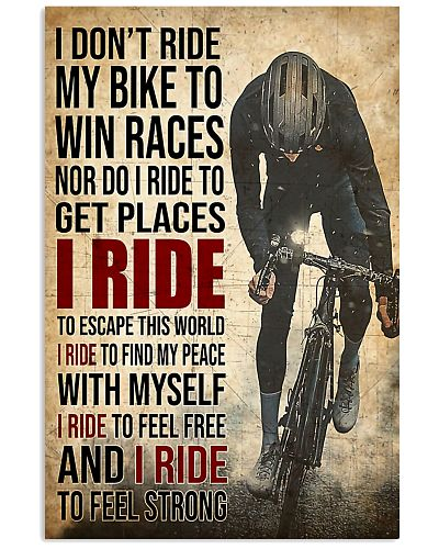 I Ride poster