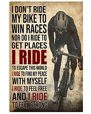 I Ride poster 11x17 Poster front