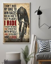 I Ride poster 11x17 Poster lifestyle-poster-1