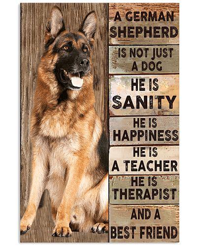 German Shepherd  Is Not Just A poster