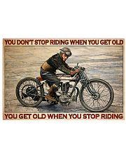 norto man dont get old pt lqt cva 24x16 Poster front