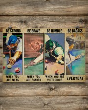 Billiard be strong pt dvhh ngt ads 17x11 Poster aos-poster-landscape-17x11-lifestyle-14