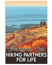 hiking partners for life Acadia 11x17 Poster front