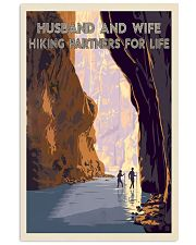 hiking partners for life rock river 11x17 Poster front