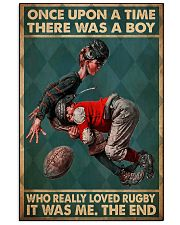 once upon boy love rugby pc phq ntv 11x17 Poster front