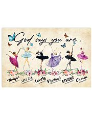 Ballet Unique god say you are poster 17x11 Poster front