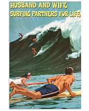 surfing partner for life poster 11x17 Poster front