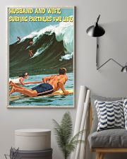 surfing partner for life poster 11x17 Poster lifestyle-poster-1