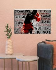 boxing quitting is not pt lqt NTH 24x16 Poster poster-landscape-24x16-lifestyle-22
