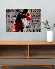 boxing quitting is not pt lqt NTH 24x16 Poster poster-landscape-24x16-lifestyle-25