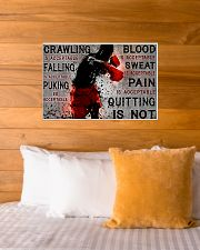 boxing quitting is not pt lqt NTH 24x16 Poster poster-landscape-24x16-lifestyle-27