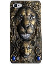 3d lion kig polymer clay pc mttn NTH Phone Case i-phone-8-case