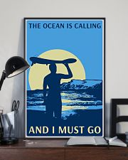 surfing calling poster 11x17 Poster lifestyle-poster-2