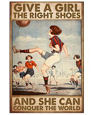 football give a give the right shoes pt mttn ntv 11x17 Poster front