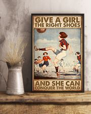 football give a give the right shoes pt mttn ntv 11x17 Poster lifestyle-poster-3