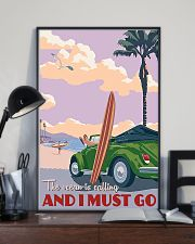 surfing ocean is calling 11x17 Poster lifestyle-poster-2