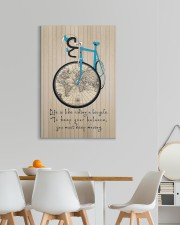 Life Is Like Riding A Bicycle Canvas 20x30 Gallery Wrapped Canvas Prints aos-canvas-pgw-20x30-lifestyle-front-05