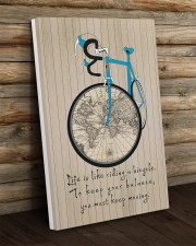 Life Is Like Riding A Bicycle Canvas 20x30 Gallery Wrapped Canvas Prints aos-canvas-pgw-20x30-lifestyle-front-19