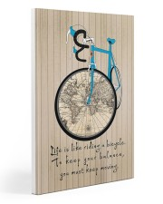 Life Is Like Riding A Bicycle Canvas 20x30 Gallery Wrapped Canvas Prints front