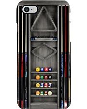 Billiard Pool rack silver mist rack case dvhh pml Phone Case i-phone-8-case