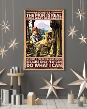arborist life pain real pt lqt nna 11x17 Poster lifestyle-holiday-poster-1