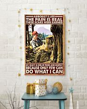 arborist life pain real pt lqt nna 11x17 Poster lifestyle-holiday-poster-3