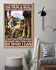 arborist life pain real pt lqt nna 11x17 Poster lifestyle-poster-1