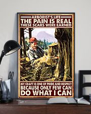 arborist life pain real pt lqt nna 11x17 Poster lifestyle-poster-2