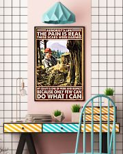 arborist life pain real pt lqt nna 11x17 Poster lifestyle-poster-6