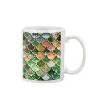 Mermaid Fin green Mug tile