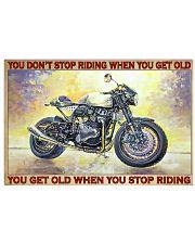 norto biker dont get old pt lqt pml 24x16 Poster front