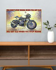 norto biker dont get old pt lqt pml 24x16 Poster poster-landscape-24x16-lifestyle-25