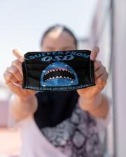 shark COD mas Cloth Face Mask - 3 Pack aos-face-mask-lifestyle-07