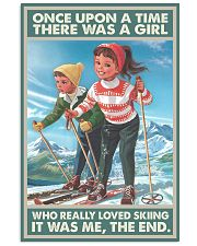 skiing girl once upon a time poster 11x17 Poster front