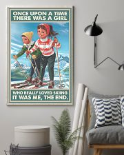 skiing girl once upon a time poster 11x17 Poster lifestyle-poster-1