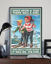 skiing girl once upon a time poster 11x17 Poster lifestyle-poster-2