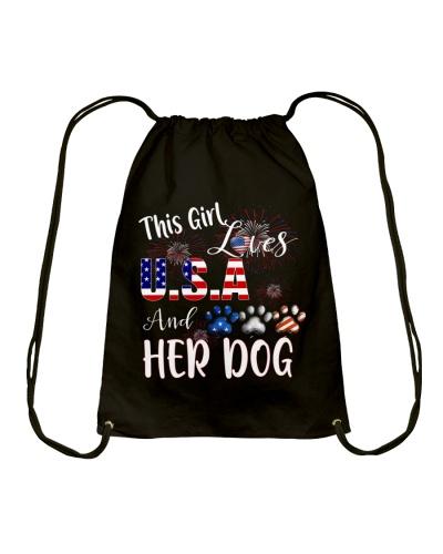 girl dog usa love