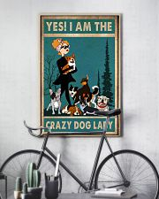 dog crazy dog lady poster 24x36 Poster lifestyle-poster-7