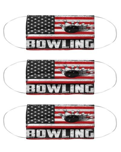 bowling us flag mas