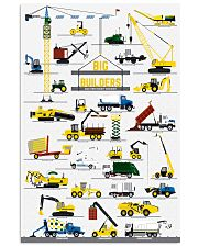 big builders and other mighty machines 11x17 Poster front