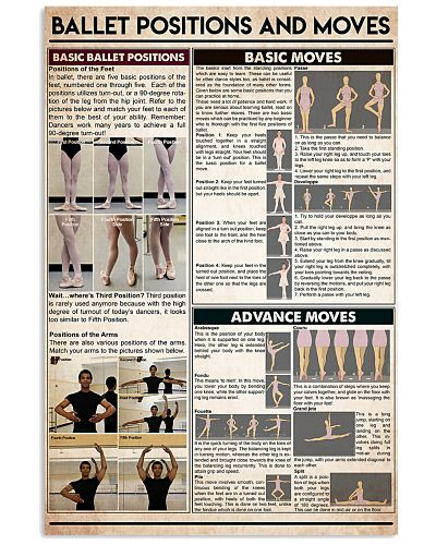 Ballet postitions and moves