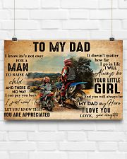 motocross daughter to my dad lqt ntv 24x16 Poster poster-landscape-24x16-lifestyle-18