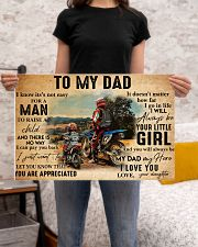 motocross daughter to my dad lqt ntv 24x16 Poster poster-landscape-24x16-lifestyle-20