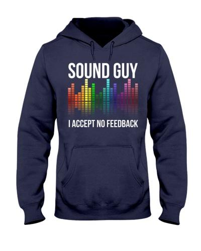 audio engineer accept no feedback