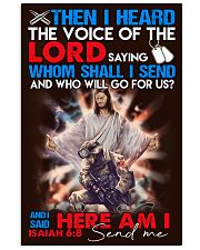 veteran lord send me poster 11x17 Poster front