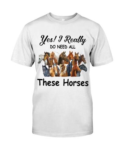 Yes I really do need these horses