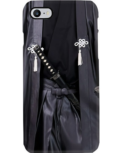 samurai uniform phone case