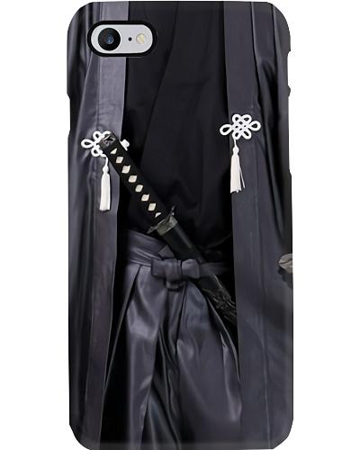 samurai uniform phone case
