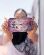 Flamingo Moon Cloth Face Mask - 3 Pack aos-face-mask-lifestyle-07