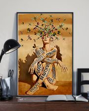 dragonfly girl text pt lqt NTH 11x17 Poster lifestyle-poster-2